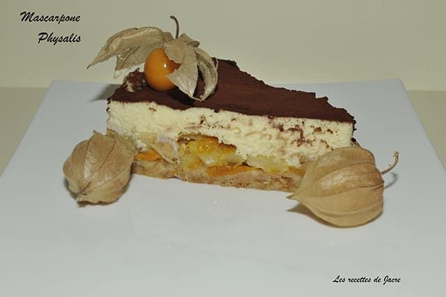Tiramisu physalis et pommes - Galbani