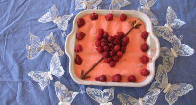 Tiramisu Rose-Framboises pour la Saint-Valentin - Galbani