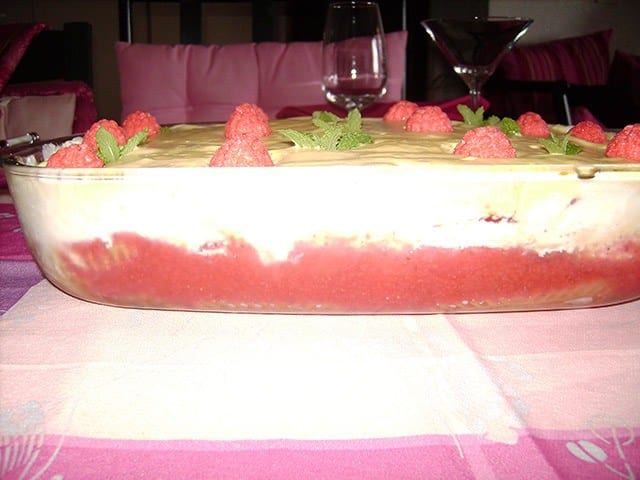 Tiramisu Coulis De Fruits Rouges - Galbani