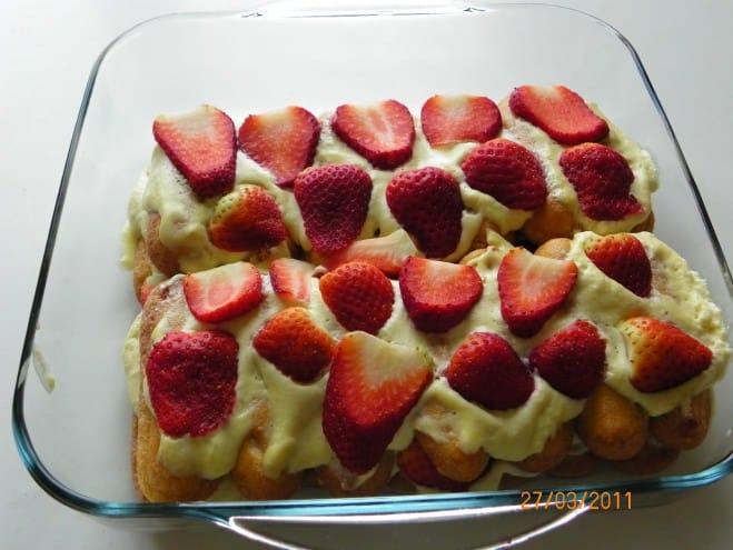 Tiramisu aux fraises façon Carole - Galbani