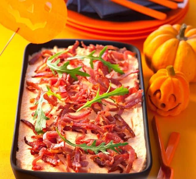 Tiramisu au Potiron et Bacon Halloween - Galbani