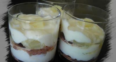 Tiramisu vanillé à l'ananas et au chocolat - Galbani