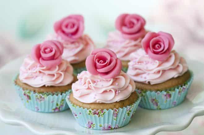 Roses en cupcake - Galbani