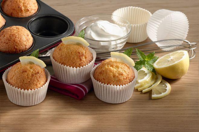 Muffins au Mascarpone et au Citron - Galbani