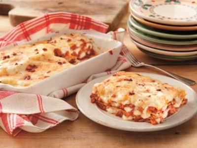 Lasagnes à la Viande et aux Légumes - Galbani