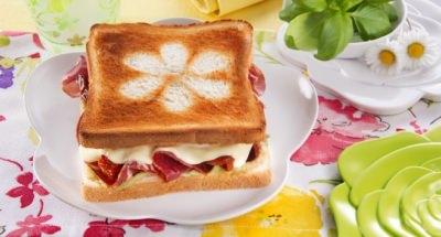 "Toasts ""Pâques fleuri"" - Galbani"