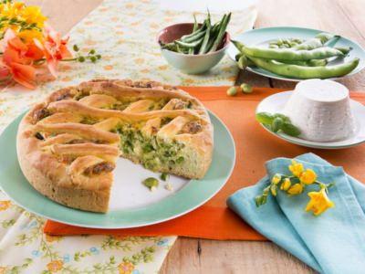 Tourte Verte aux Légumes et à la Ricotta - Galbani