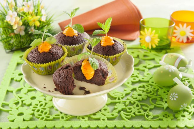 Cupcakes de Pâques au chocolat - Galbani