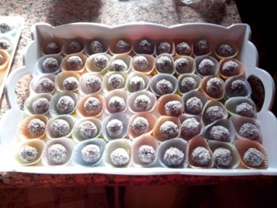 Pralines à la noix de coco - Galbani