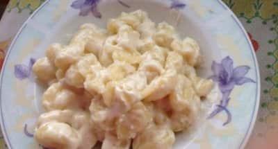Gnocchis à la Mozzarella - Galbani