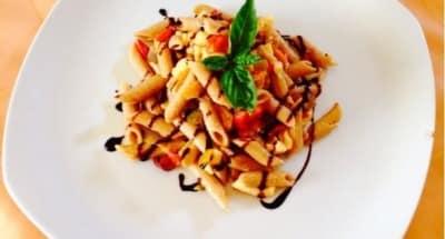 Pates Froides aux Olives Noires et au Poivron - Galbani