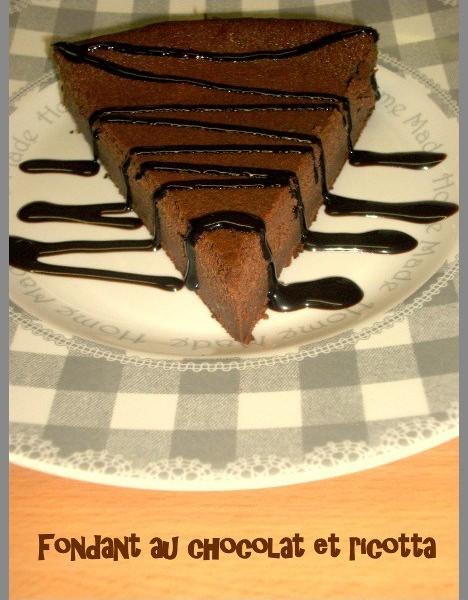Fondant au Chocolat et Ricotta - Galbani