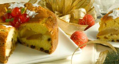 Gâteau aux poires et pépites de chocolat - Galbani