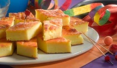 Gâteau de semoule - Galbani