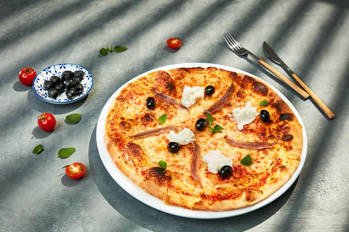 Recette la v ritable pizza napolitaine pizza galbani - Veritable pate a pizza ...