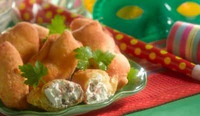 Crêpes fourrées aux anchois et à la Ricotta - Galbani