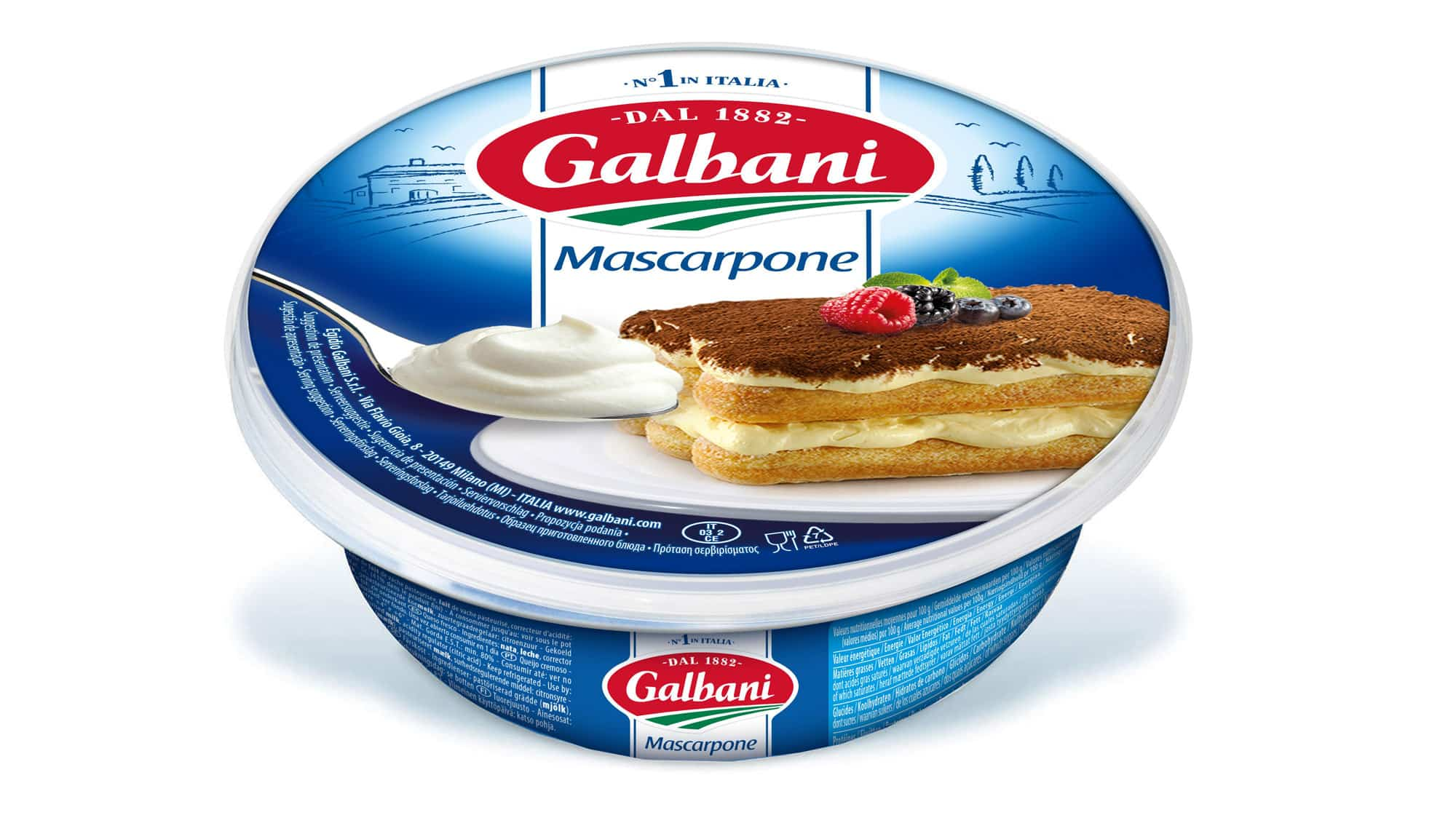 Mascarpone 250g - Nos Fromages À L'italienne
