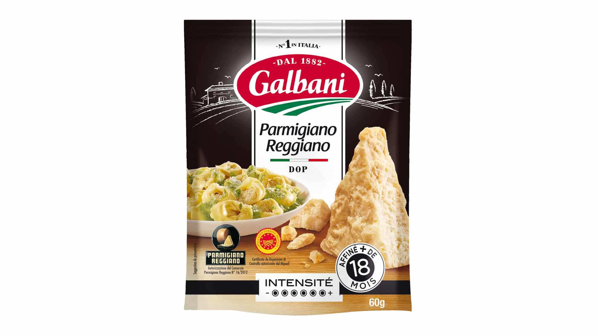 Parmigiano Raggiano D.O.P 60g - Nos Fromages À L'italienne