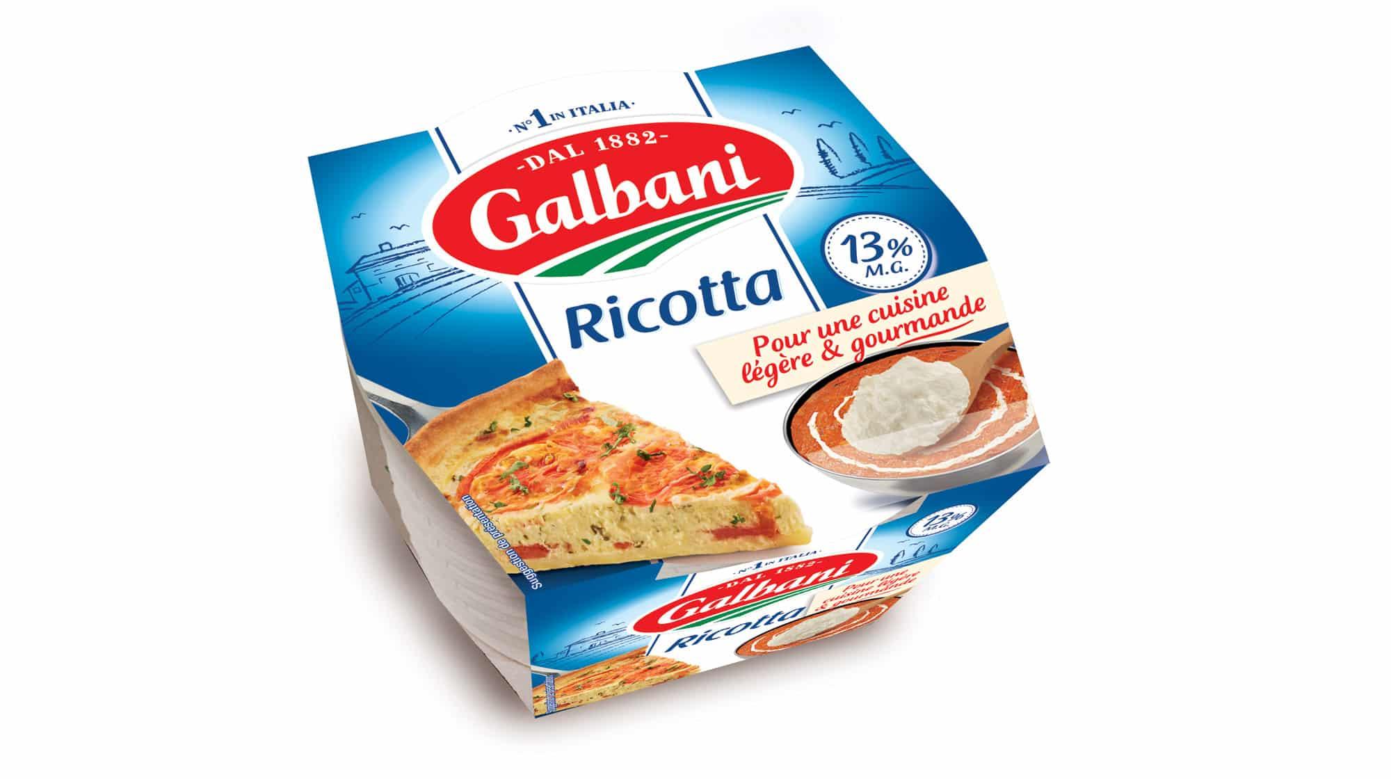 Ricottta 250g - Nos Fromages À l'italienne