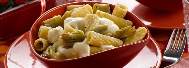 Rigatoni avec sauce artichaut - Galbani