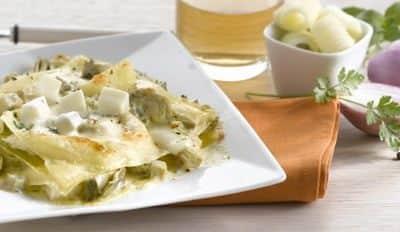 Lasagnes aux Artichauts - Galbani
