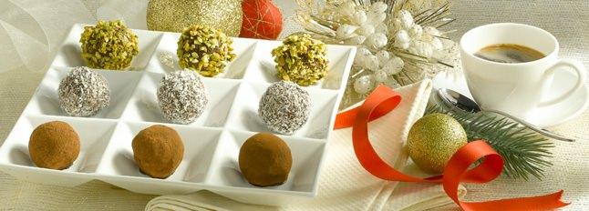 Boules de Noël au chocolat - Galbani
