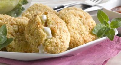 Boulettes de saumon, pommes de terre et Mozzarella - Galbani