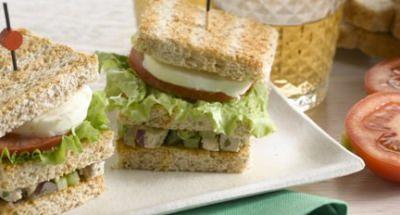 Sandwich à la Salade de Poulet - Galbani