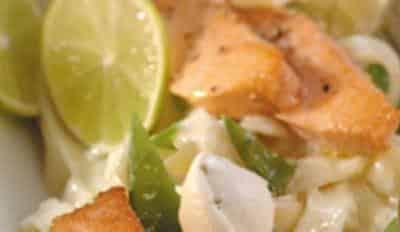 Tagliolini saumon et mascarpone - Galbani