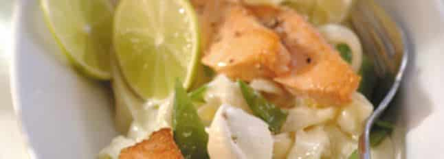 Tagliolini au saumon et au Mascarpone - Galbani