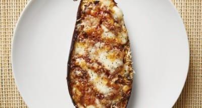Aubergines farcies à la mozzarelle - Galbani
