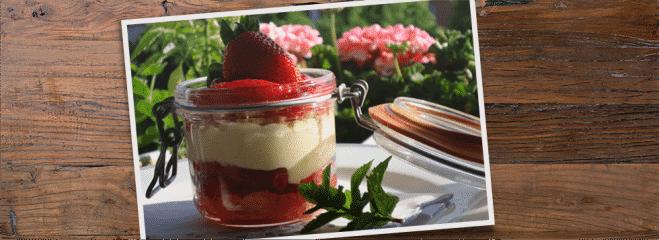 Crème Gourmande Fraise-Agrumes - Galbani