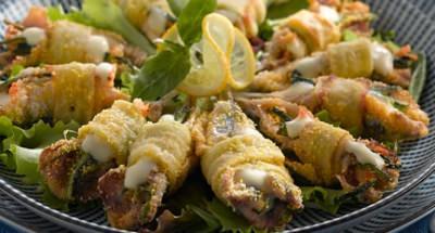 Anchois farcis de Mozzarella et de courgettes - Galbani