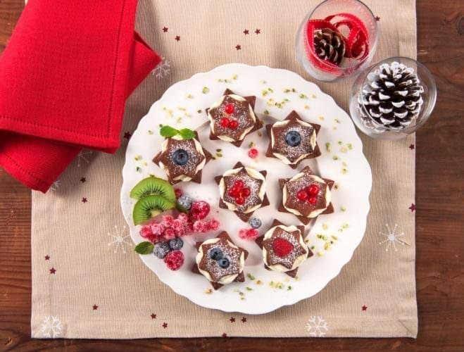 Biscuits au cacao et à la crème de mascarpone - Galbani