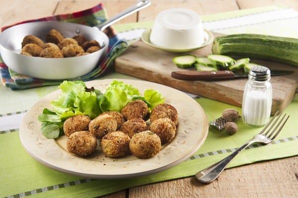 Boulettes de viande, courgettes et ricotta - Galbani
