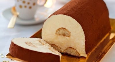 Bûche Tiramisu Glacée Au Chocolat Et Café - Galbani