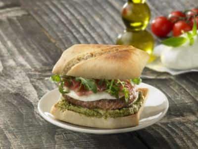 Burger à la Mozzarella - Galbani