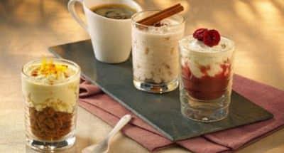 Café gourmand cerise, citron et cannelle - Galbani