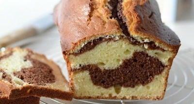 Cake marbré à la Ricotta - Galbani