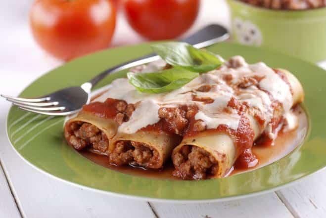 Cannelloni à la Viande Hachée - Galbani