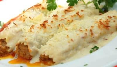 Cannelloni à la Mozzarella et Ricotta - Galbani