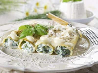 Cannelloni à la Ricotta et aux Épinards - Galbani