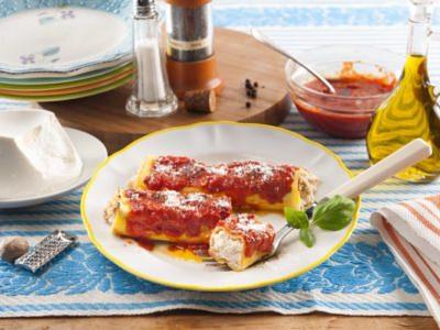Cannellonis à la Ricotta et à la Saucisse - Galbani