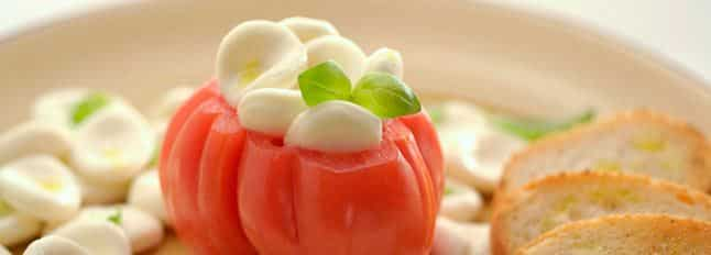 Caprese façon tomates farçies - Galbani