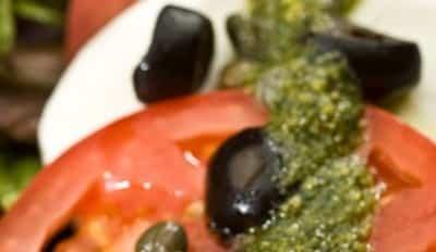 Salade Caprese au Pesto - Galbani