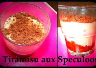 Tiramisu Vanillé Aux Spéculoos - Galbani