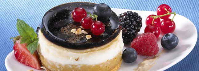 Gâteau au fromage blanc et crème noisette - Galbani