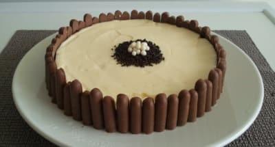 Cheesecake aux Biscuits de Votre Choix - Galbani