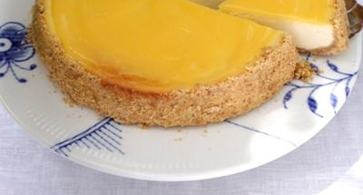 Cheesecake au Lemon Curd - Galbani