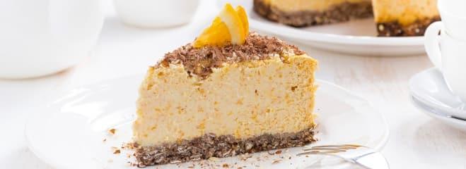 Cheesecake à l'Arôme d'Orange - Galbani
